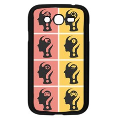 Question Face Think Samsung Galaxy Grand Duos I9082 Case (black)