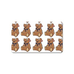 Bear Magnet (Name Card) by Jojostore
