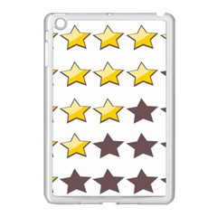 Star Rating Copy Apple Ipad Mini Case (white) by Jojostore