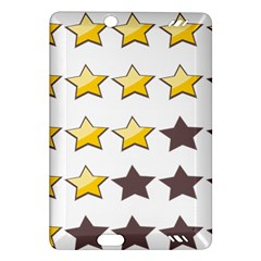 Star Rating Copy Amazon Kindle Fire Hd (2013) Hardshell Case by Jojostore