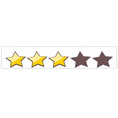 Star Rating Copy Flano Scarf (large) by Jojostore