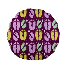 Soles Of The Feet Standard 15  Premium Round Cushions by Jojostore