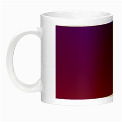 Purple Orange Blue Night Luminous Mugs by Jojostore