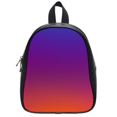 Purple Orange Blue School Bags (small)  by Jojostore