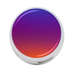 Purple Orange Blue 4 Port Usb Hub (one Side) by Jojostore