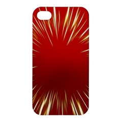 Color Gold Yellow Background Apple Iphone 4/4s Hardshell Case by Amaryn4rt