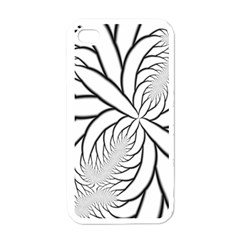 Fractal Symmetry Pattern Network Apple Iphone 4 Case (white) by Amaryn4rt