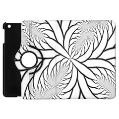 Fractal Symmetry Pattern Network Apple Ipad Mini Flip 360 Case by Amaryn4rt