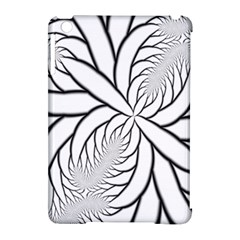 Fractal Symmetry Pattern Network Apple Ipad Mini Hardshell Case (compatible With Smart Cover) by Amaryn4rt