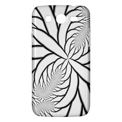 Fractal Symmetry Pattern Network Samsung Galaxy Mega 5 8 I9152 Hardshell Case  by Amaryn4rt