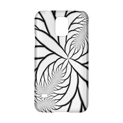 Fractal Symmetry Pattern Network Samsung Galaxy S5 Hardshell Case