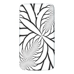 Fractal Symmetry Pattern Network Samsung Galaxy Mega I9200 Hardshell Back Case