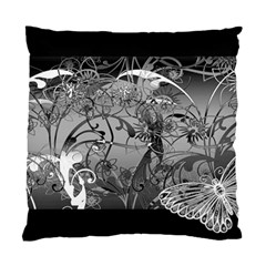 Kringel Circle Flowers Butterfly Standard Cushion Case (two Sides)