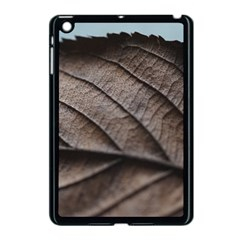 Leaf Veins Nerves Macro Closeup Apple Ipad Mini Case (black) by Amaryn4rt