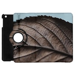 Leaf Veins Nerves Macro Closeup Apple Ipad Mini Flip 360 Case by Amaryn4rt