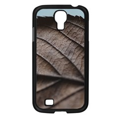 Leaf Veins Nerves Macro Closeup Samsung Galaxy S4 I9500/ I9505 Case (black) by Amaryn4rt