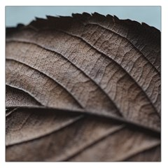 Leaf Veins Nerves Macro Closeup Large Satin Scarf (square) by Amaryn4rt