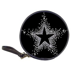 Sparkling Bling Star Cluster Cd Wallet by artattack4all