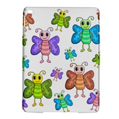 Colorful, Cartoon Style Butterflies Ipad Air 2 Hardshell Cases by Valentinaart