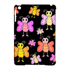 Cute Butterflies, Colorful Design Apple Ipad Mini Hardshell Case (compatible With Smart Cover) by Valentinaart