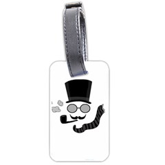 Invisible Man Luggage Tags (two Sides) by Valentinaart