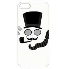 Invisible Man Apple Iphone 5 Hardshell Case With Stand by Valentinaart