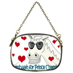 Don t Wait For Prince Sharming Chain Purses (two Sides)  by Valentinaart