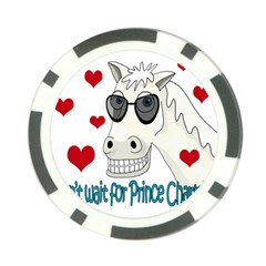 Don t wait for Prince Sharming Poker Chip Card Guards (10 pack)  by Valentinaart
