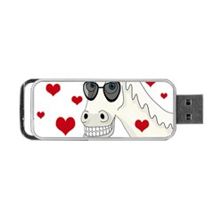 Don t Wait For Prince Sharming Portable Usb Flash (one Side) by Valentinaart