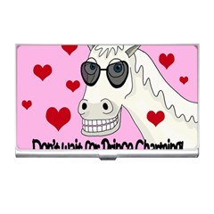 Don t Wait For Prince Charming Business Card Holders by Valentinaart