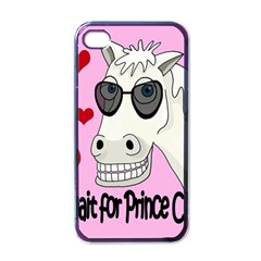 Don t Wait For Prince Charming Apple Iphone 4 Case (black) by Valentinaart