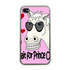 Don t Wait For Prince Charming Apple Iphone 4 Case (clear) by Valentinaart