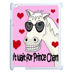 Don t Wait For Prince Charming Apple Ipad 2 Case (white) by Valentinaart