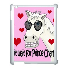 Don t Wait For Prince Charming Apple Ipad 3/4 Case (white) by Valentinaart