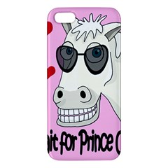 Don t Wait For Prince Charming Apple Iphone 5 Premium Hardshell Case by Valentinaart