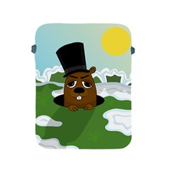 Groundhog Apple Ipad 2/3/4 Protective Soft Cases by Valentinaart
