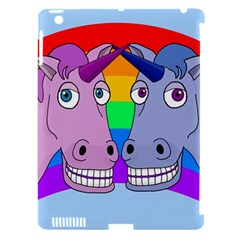 Unicorn Love Apple Ipad 3/4 Hardshell Case (compatible With Smart Cover) by Valentinaart