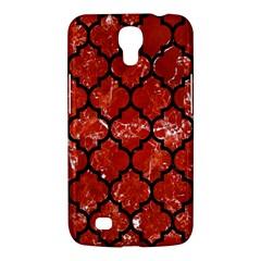 Tile1 Black Marble & Red Marble (r) Samsung Galaxy Mega 6 3  I9200 Hardshell Case by trendistuff