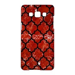 Tile1 Black Marble & Red Marble (r) Samsung Galaxy A5 Hardshell Case  by trendistuff