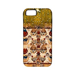 Festive Cartoons In Star Fall Apple Iphone 5 Classic Hardshell Case (pc+silicone) by pepitasart