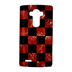 Square1 Black Marble & Red Marble Lg G4 Hardshell Case by trendistuff