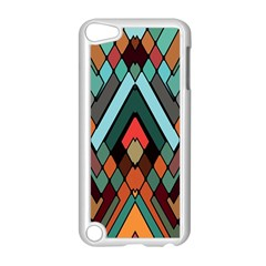Abstract Mosaic Color Box Apple Ipod Touch 5 Case (white) by Jojostore