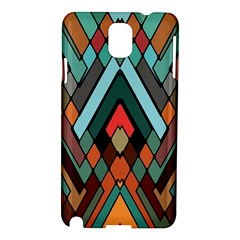 Abstract Mosaic Color Box Samsung Galaxy Note 3 N9005 Hardshell Case