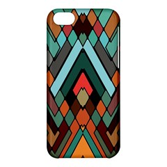 Abstract Mosaic Color Box Apple Iphone 5c Hardshell Case by Jojostore