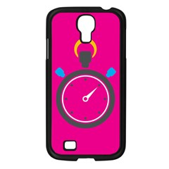 Alarm Clock Houre Samsung Galaxy S4 I9500/ I9505 Case (black) by Jojostore