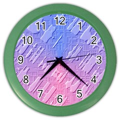 Baby Pattern Color Wall Clocks