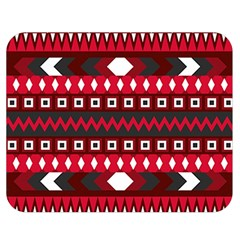 Asterey Red Pattern Double Sided Flano Blanket (medium)  by Jojostore