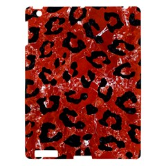Skin5 Black Marble & Red Marble Apple Ipad 3/4 Hardshell Case by trendistuff