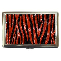 Skin4 Black Marble & Red Marble (r) Cigarette Money Case by trendistuff