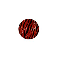 Skin3 Black Marble & Red Marble (r) 1  Mini Magnet